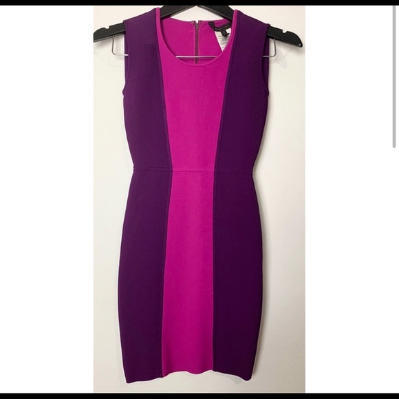 BCBGMaxAzria Dresses & Skirts - NWOT BCBG MaxAzria Purple Alize Bodycon Dress